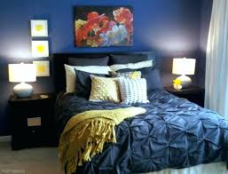 navy blue and mustard yellow bedding quilt full size of bedroom with white comforter instead the