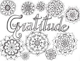 Gratitude You Color
