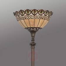 Thessa Staande Lamp In Tiffany Stijl Lampen24nl