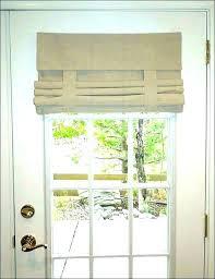 front door window panel curtains side door curtain