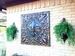 garden ornaments metal wall art