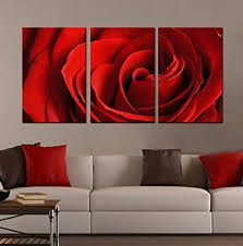 generic modern landscape quot red rose quot canvas print wall art for home  on red rose canvas wall art with amazon generic modern landscape red rose canvas print wall