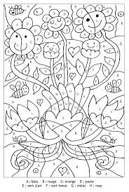 Ideas About Coloriage Magique Pour Imprimer Gratuit Lettres Fleurs