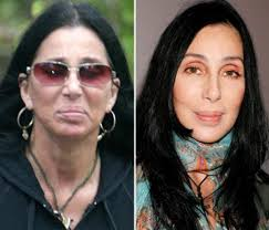stars without their makeup on if only cher could turn back time slide 9 of 10