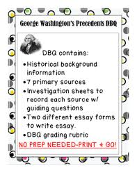 george washington precedents dbq by american girl tpt george washington precedents dbq