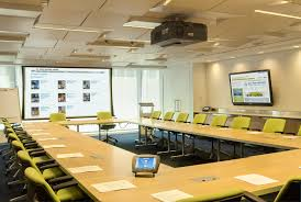 office meeting ideas. Office Meeting Room Design Inspiration With Unique Rectangle Style Of Wooden Table Decor Also Lime Green Chairs Ideas And Amazing I