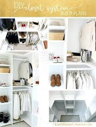 diy custom closet closet organizer plans for a deep closet diy custom closet drawers