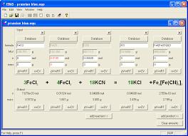 ebas reaction calculator 1 0 1 63 screenshot