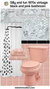 pink bathroom decor black bathroom
