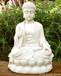 stone buddha statue outdoor statues for white large outdoor stone garden water fountain buddha statue