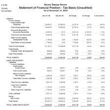 Financial Statement Examples Sample Financial Reports From Quickbooks Bookkeeping Forms