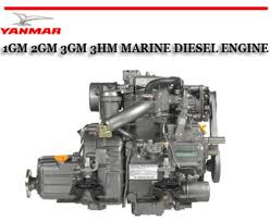 yanmar 1gm 2gm 3gm 3hm workshop service repair manual
