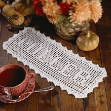Thread Crochet Patterns Gorgeous Filet Family Name Thread Crochet EPattern LeisureArts
