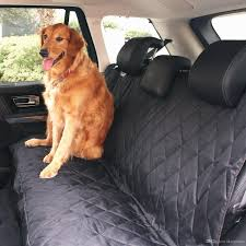 black waterproof hammock pet car seat cover black non slip extra side flaps machine washable car seat cover for pet by skyepetsun dhgate