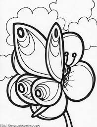 Butterfly Coloring Pages (2) - Coloring Kids