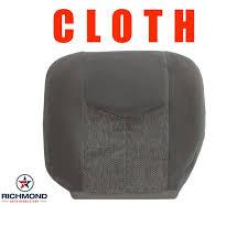 home chevrolet silverado 2003 2007 chevy silverado ls lt z71 cloth seat cover driver bottom