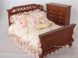 Miniature Dollhouse Bedroom Furniture Chelsea Dollhouse Miniature Bedroom Set Chelsea Dollhouse
