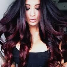 Photo Dark Red Hair Color Ideas