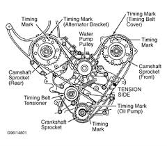 timing belt marking 1991 dodge fixya timeing belt broke need marking info 1991 dodge spirit