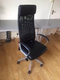 office chair ikea marcus swivel chair black