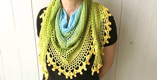 Free Crochet Triangle Shawl Patterns