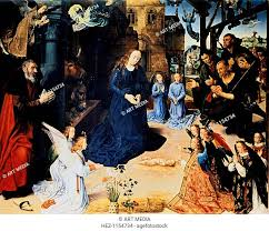 adoration of the shepherd 1476 1479 central panel of the portinari