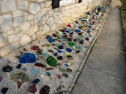 glass cullet in landscaping