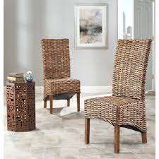 high back chair indoor wicker furniture