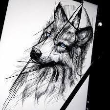 волк графика тату татуировка волк татуировки и эскиз тату