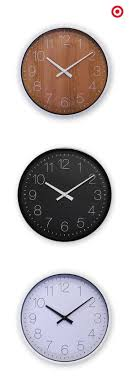 full image for beautiful room essentials wall clock 64 room essentials wall clock review find