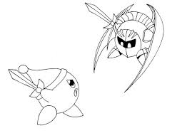 Small Picture Meta Knight Food Coloring Coloring Pages