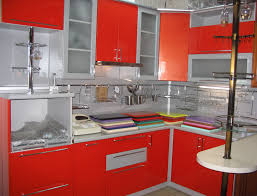 Lovely Red And Gray Kitchen Ideas Taste