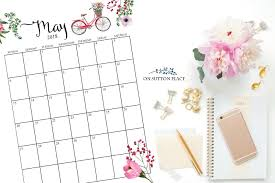 2018 Free Printable Monthly Calendar - On Sutton Place