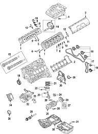 parts com® audi valve cover gasket right partnumber 07l103484f 2007 audi s6 base v10 5 2 liter gas cylinder head valves