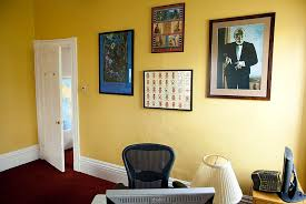 decorated office. In Warren House, John L. Loeb Professor Of Germanic Languages And  Literatures Maria Tatar Decorated Office N