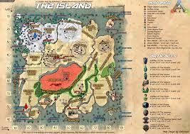 Ark Chart Ark Survival Evolved Mmorpg Game Best Quality Chart Map