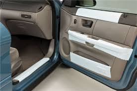 protecrite applied to the interior of a car door