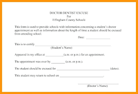Doctor Appointment Form Template 5 Free Fake Doctors Note Templates