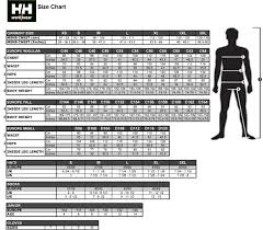 Helly Hansen Jacket Size Chart Knighton Tools Ltd Helly Hansen Size Chart