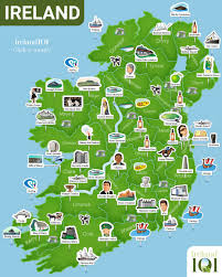 map of ireland  ireland