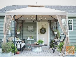 patio paint ideasPatio Ideas  Create A Covered Patio With Paint and Thrift Finds
