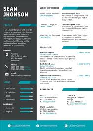50 Free Resume Cv Template In Photoshop Psd Format For