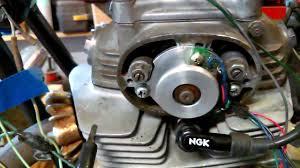 sl350 honda running on electronic ignition sl350 honda running on electronic ignition