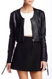 image of linea pelle the looker genuine leather jacket