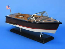 wooden chris craft runabout model sdboat 14 fully assembled sd boat