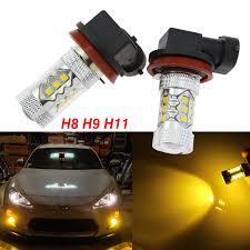 Bmw 1 Series Daytime Running Light Bulb H8 H9 H11 High Power Gold Yellow Cree Led Drl Fog Lights