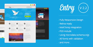 Entry Startup Landing Page By Multifour Themeforest