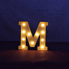 lighted letter signs. 9\u0026quot; Beige Metal Letters Light Led Alphabet Marquee Sign Up Lighted Signs Letter