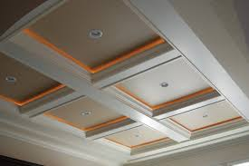coffer lighting. Coffered Ceiling With Accent Lighting Coffer