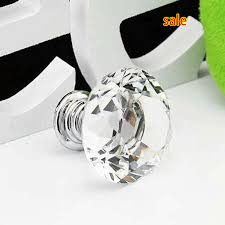 glass cabinet knobs. Crystal Glass Drawer Pulls - New Hot Selling Mm Diamond Shape Cabinet Handle Cupboard Knobs